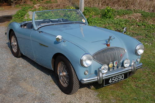 1953 Healey 100/4 BN1 Super original, low mileage, drives well For Sale (picture 1 of 6)
