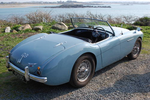 1953 Healey 100/4 BN1 Super original, low mileage, drives well For Sale (picture 2 of 6)