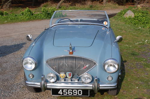 1953 Healey 100/4 BN1 Super original, low mileage, drives well For Sale (picture 6 of 6)