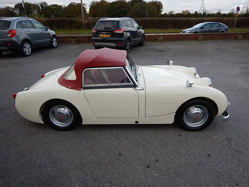 1961 AUSTIN HEALEY Frogeye Mk1 Sprite ~  SOLD (picture 3 of 6)