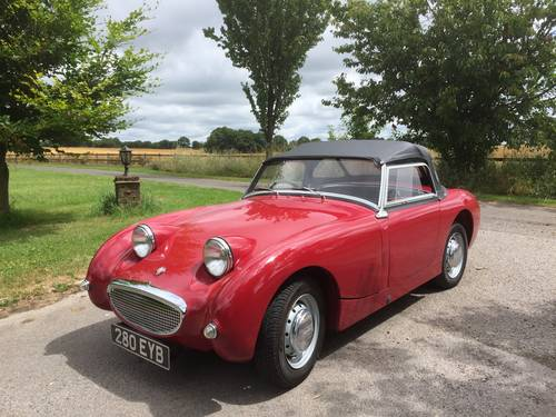 1959 Austin Healey 'Frogeye' Sprite  for Sale in Hampshire.. SOLD (picture 1 of 6)