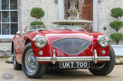 1955 DEPOSIT TAKENAustin Healey 100 | UK Multiple Concours Winner SOLD (picture 1 of 6)