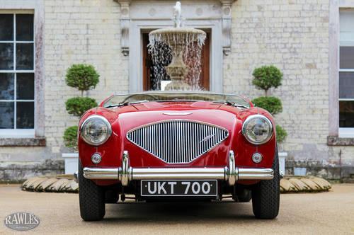 1955 DEPOSIT TAKENAustin Healey 100 | UK Multiple Concours Winner SOLD (picture 2 of 6)