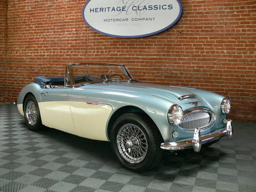 1963 Austin Healey 3000 MK II BJ7 SOLD (picture 1 of 6)