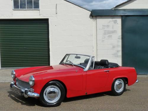 1969 Austin Healey Sprite MkIV, restored SOLD SOLD (picture 1 of 6)