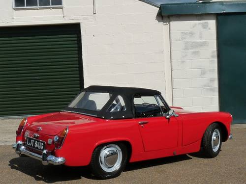 1969 Austin Healey Sprite MkIV, restored SOLD SOLD (picture 2 of 6)