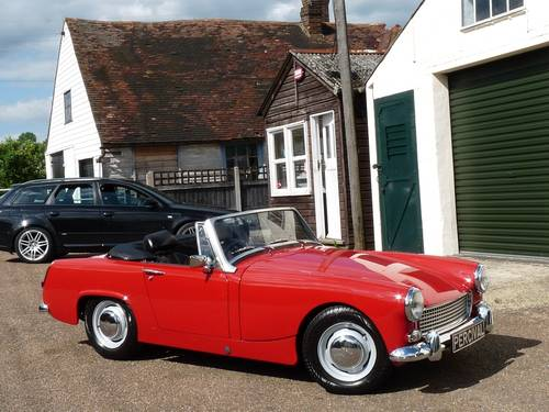1969 Austin Healey Sprite MkIV, restored SOLD SOLD (picture 5 of 6)