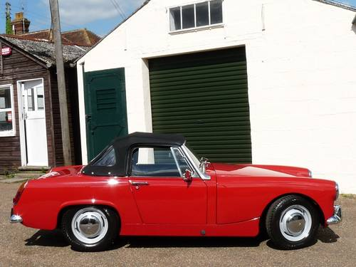 1969 Austin Healey Sprite MkIV, restored SOLD SOLD (picture 6 of 6)