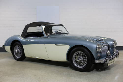 1961 Rare BN7 MKII Healey 3000 SOLD (picture 2 of 6)