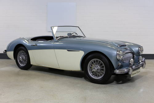 1961 Rare BN7 MKII Healey 3000 SOLD (picture 4 of 6)