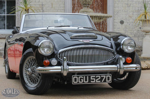 1966 Austin Healey 3000 MKIII BJ8 Phase Two | Recently Restored SOLD (picture 1 of 4)