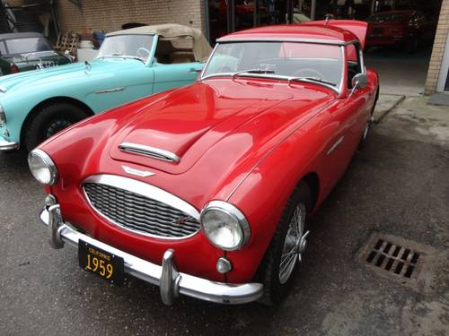 1959 Austin Healey 100/6 red '59 For Sale (picture 1 of 6)