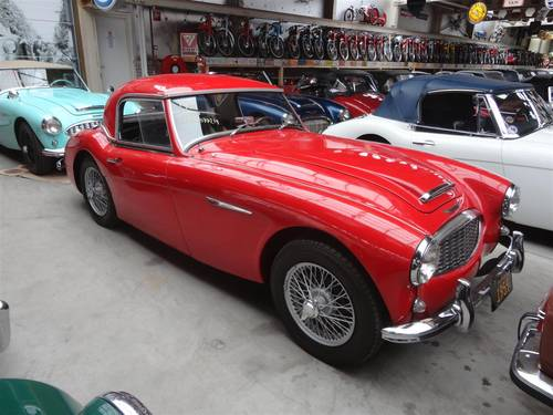 1959 Austin Healey 100/6 red '59 For Sale (picture 2 of 6)