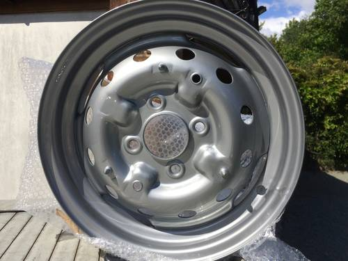 1963 Classic Austin Healey Sprite Wheel Restoration Tudor Wheels  (picture 1 of 2)