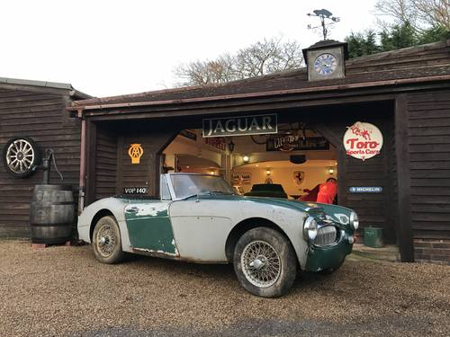 1966 AUSTIN HEALEY 3000 MKIII PHASE 2, U.K R.H.D, 2 OWNERS. SOLD (picture 1 of 6)