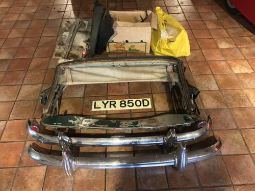 1966 AUSTIN HEALEY 3000 MKIII PHASE 2, U.K R.H.D, 2 OWNERS. SOLD (picture 5 of 6)