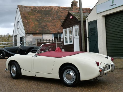 1959 Austin Healey Frogeye Sprite Mk1, Sold SOLD (picture 5 of 6)