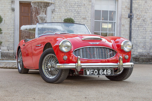 1959 Austin Healey 3000 MKI | Many Road Upgrades SOLD (picture 1 of 6)