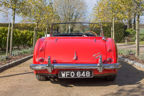 1959 Austin Healey 3000 MKI | Many Road Upgrades SOLD (picture 3 of 6)