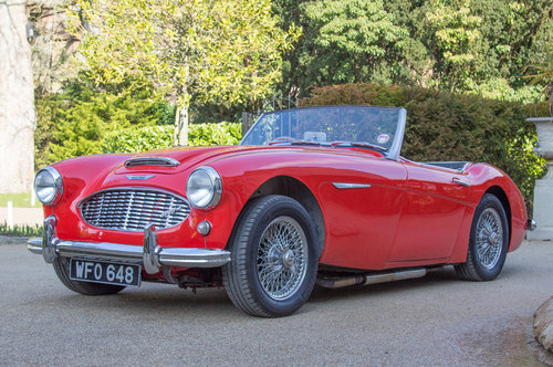 1959 Austin Healey 3000 MKI | Many Road Upgrades SOLD (picture 4 of 6)