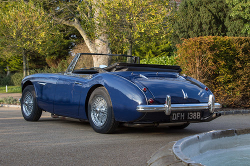 1964 Austin Healey 3000 MIII   950m Since Restoration SOLD (picture 4 of 6)