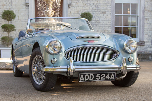 1963 Austin Healey 3000 MKIIA BJ7 | 60k from new, Original Blue SOLD (picture 1 of 6)
