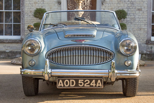 1963 Austin Healey 3000 MKIIA BJ7 | 60k from new, Original Blue SOLD (picture 2 of 6)