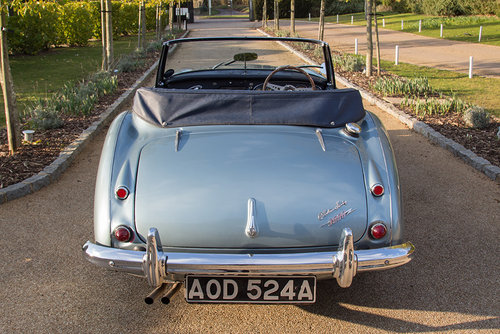1963 Austin Healey 3000 MKIIA BJ7 | 60k from new, Original Blue SOLD (picture 4 of 6)