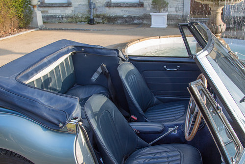 1963 Austin Healey 3000 MKIIA BJ7 | 60k from new, Original Blue SOLD (picture 5 of 6)