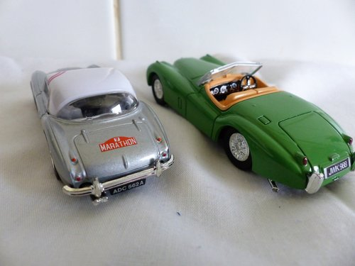 1960 STIRLING MOSS AUSTIN HEALEY 3000 & JAGUAR XK 120 For Sale (picture 3 of 6)
