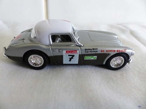 1960 STIRLING MOSS AUSTIN HEALEY 3000 & JAGUAR XK 120 For Sale (picture 4 of 6)