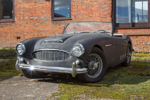 1956 Austin Healey 100/6 | Stalled Project w. Refurbd Eng/Gearbox SOLD (picture 1 of 6)