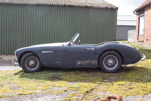 1956 Austin Healey 100/6 | Stalled Project w. Refurbd Eng/Gearbox SOLD (picture 2 of 6)