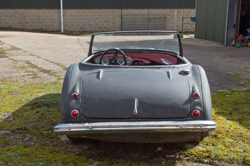 1956 Austin Healey 100/6 | Stalled Project w. Refurbd Eng/Gearbox SOLD (picture 3 of 6)