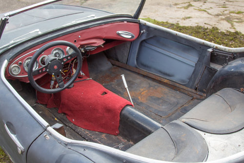 1956 Austin Healey 100/6 | Stalled Project w. Refurbd Eng/Gearbox SOLD (picture 5 of 6)