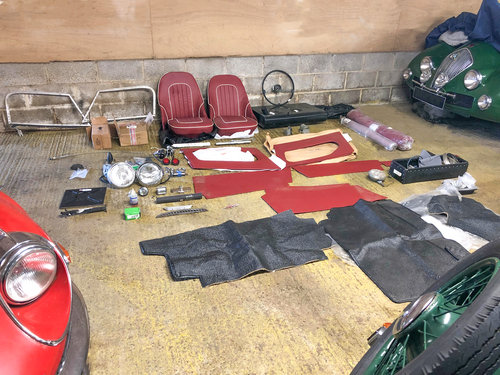 1956 Austin Healey 100/6 | Stalled Project w. Refurbd Eng/Gearbox SOLD (picture 6 of 6)