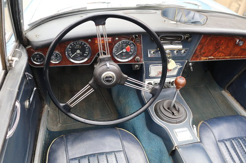 1966 Austin Healey 3000 MK III # 22282 For Sale (picture 4 of 5)