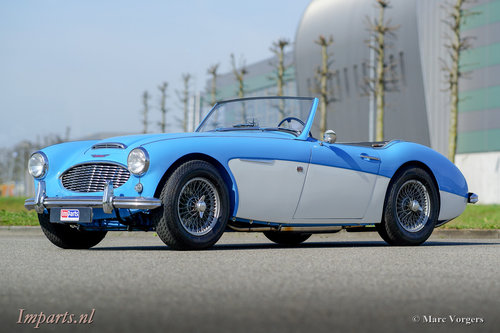 1960 Austin Healey 3000 Mk1 LHD For Sale (picture 1 of 6)