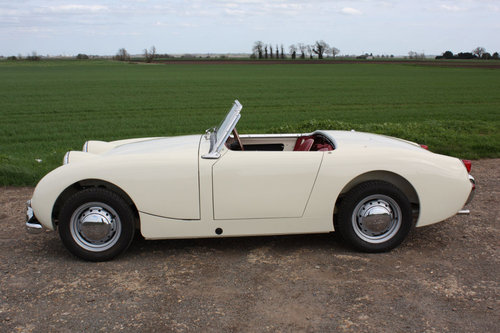 1960 OUTSTANDING AUSTIN HEALEY SPRITE SOLD (picture 6 of 6)