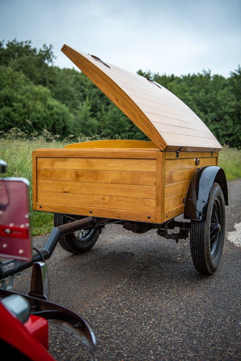 1955 Unique wooden trailer For Sale (picture 2 of 5)