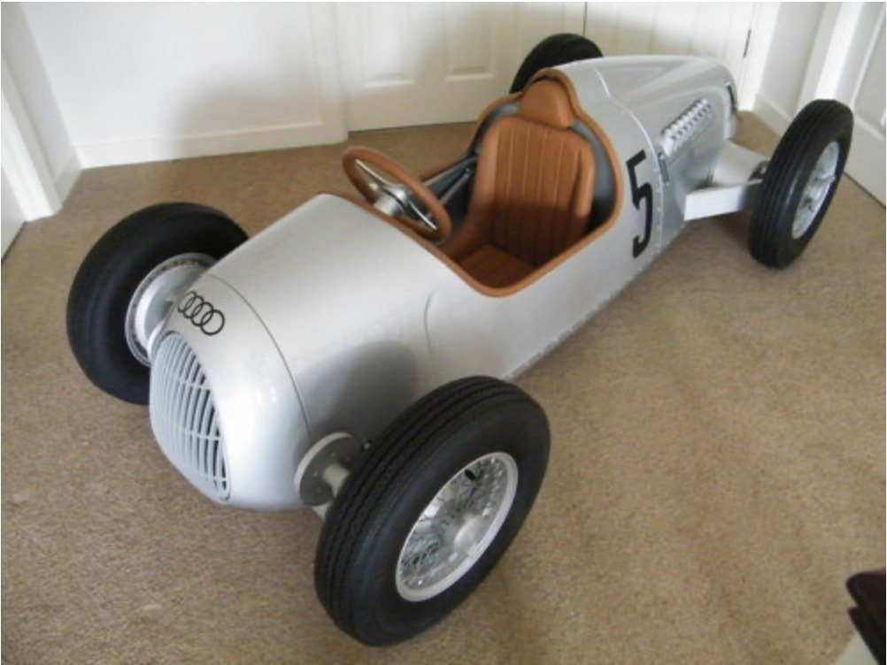 2000 Auto union pedal car For Sale (picture 1 of 1)