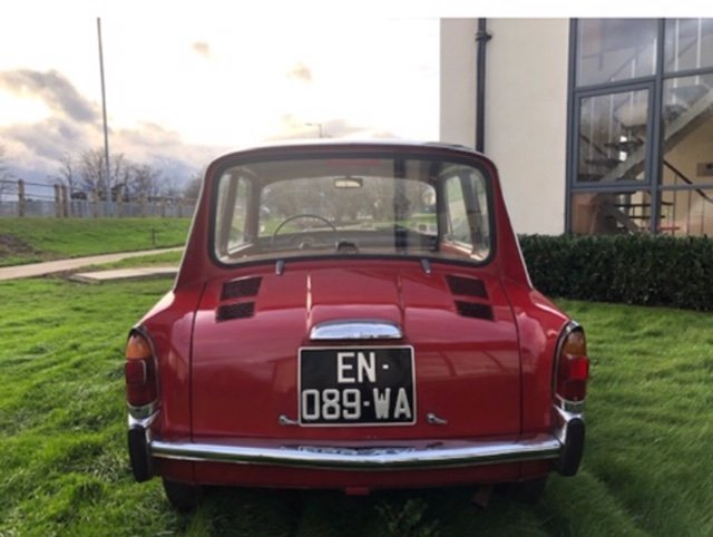 1968 Autobianchi bianchina lutece saloon For Sale (picture 1 of 6)