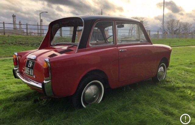 1968 Autobianchi bianchina lutece saloon For Sale (picture 2 of 6)