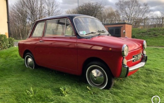 1968 Autobianchi bianchina lutece saloon For Sale (picture 3 of 6)