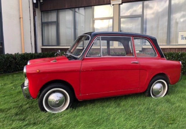 1968 Autobianchi bianchina lutece saloon For Sale (picture 5 of 6)