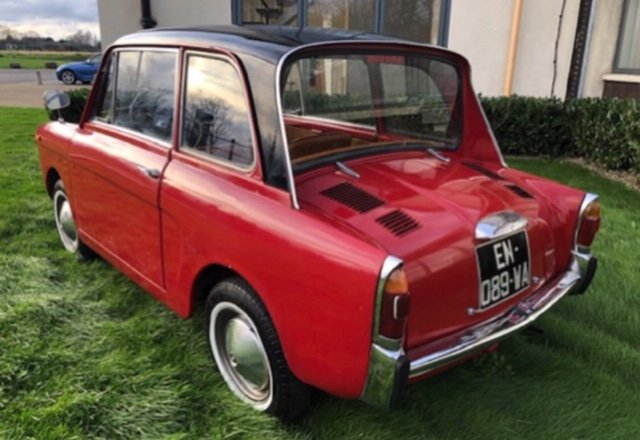 1968 Autobianchi bianchina lutece saloon For Sale (picture 6 of 6)