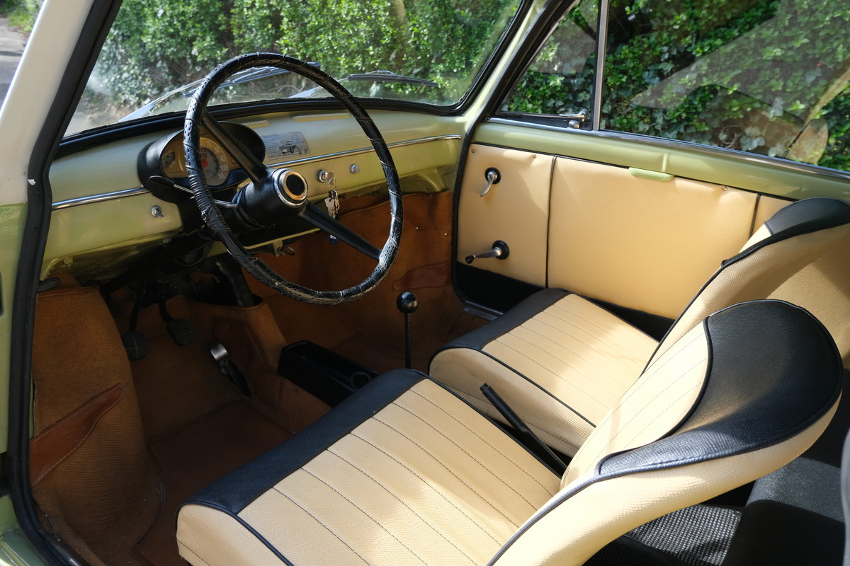 1964 Autobianchi Bianchina (Fiat 500) For Sale (picture 5 of 6)