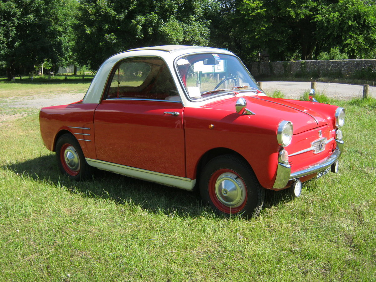 1958 AUTOBIANCHI BIANCHINA TRASFORMABILE 'S'. SUICIDE DOORS For Sale (picture 1 of 6)