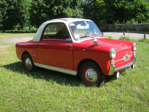 1958 AUTOBIANCHI BIANCHINA TRASFORMABILE 'S'. SUICIDE DOORS For Sale