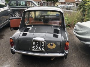 Picture of 1965  rare round dial model Autobianchi Bianchina